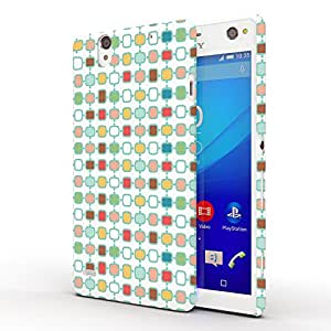 Koveru Designer Printed Protective Snap-On Durable Plastic Back Shell Case Cover for SONY XPERIA C4 - Phome Pattern
