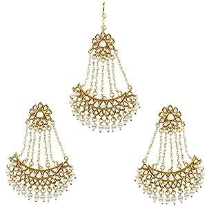 Indian Jewellery Jhumar Passa Tikka Head Piece Side Matta Patti Imtation Pasa