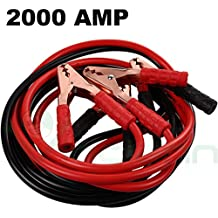 Cables bipolari Cable Arranque batería descarga coche moto camper 2000 AMP Alicates