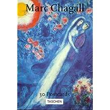 Chagall (PostcardBooks) by Marc Chagall (Illustrator) (27-Feb-1998) Perfect Paperback
