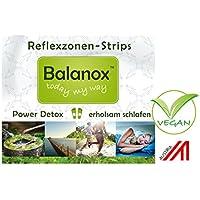 Balanox Reflexzonen-Strips Reisepackung   Detox Fuß-Pflaster mit 2fach Wirkung   Vegan   4 Reflexzonen-Strips... preisvergleich bei billige-tabletten.eu