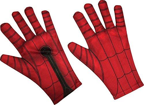 n-Handschuhe Lizenz-Zubehör für Erwachsene rot-schwarz ()