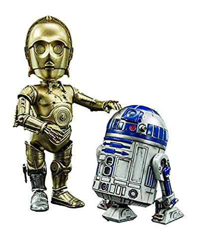 Star Wars Hybrid Metal Action Figures 2-Pack R2D2 & C-3PO Herocross