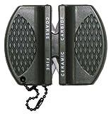 Oramics Micro Messerschärfer Mini für Outdoor, Jäger und unterwegs Schärfwerkzeug Messerschleifer
