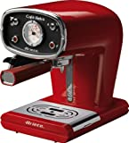 Ariete m/caffe 1388 retro' rossa portafiltro polvere/cialda vassoio r