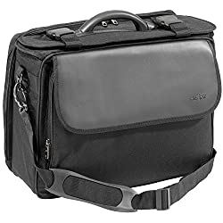 Pilot Case Briefcase Suitcase Black Polyester Briefcase Very Lightweight 1700 g