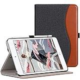 Ztotop-Hülle für das Neue iPad Mini 5 2019, dünnes, schlankes Premium-PU-Lederetui für iPad Mini 2019 7,9 Zoll mit automatischer Schlaf- / Weckfunktion und Stiftschlitz, Multi-Angle, Denim Schwarz