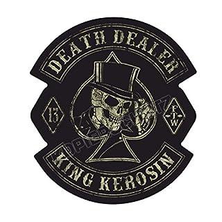 529 King Kerosin < Death Dealer > Aufkleber/Sticker USW.