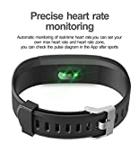 Fitness-Tracker-HolyHigh-YG3-Plus-HR-Heart-Rate-Monitor-Activity-Tracker-with-WaterproofPedometerCall-Message-AlertSleep-MonitorControl-Camera-ModeCalorieSedentary-Reminder-for-Android-and-iOS