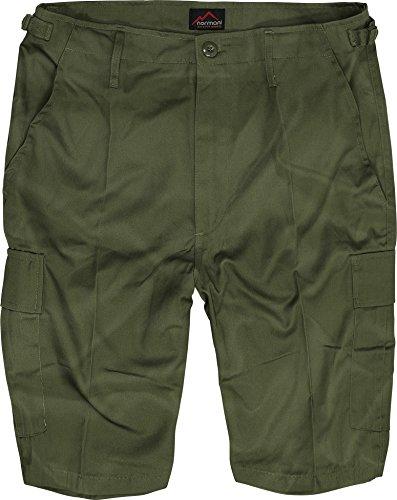 normani US Army Ranger Shorts BDU Cargo Kurze Hose Farbe Oliv Größe M