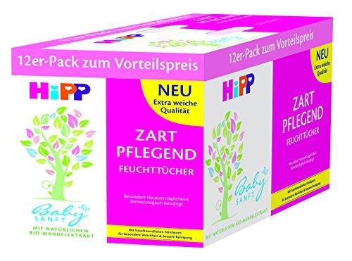 HiPP Babysanft Feuchttücher 12 x 56 Stück