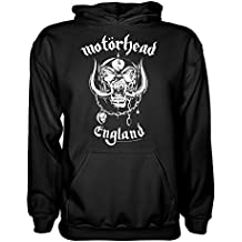 King of Merch – Sudadera con Capucha – Motörhead England Lemmy Kilmister Rock N Roll