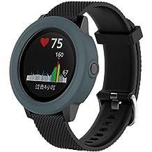 Bemodst Carcasa Suave Protector De Silicona Para Garmin VivoActive 3 GPS reloj inteligente, de repuesto