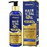 St.Botanica Hair Vital Oil With Almond, Jojoba, Rosemary, Olive, Castor, Tea Tree Oil - 200ml