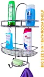 #2: Plantex 5 In 1 Stainless Steel Big Size Multipurpose Shelf/Holder For Home