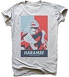 Harambe Poster Herren T-Shirt Large
