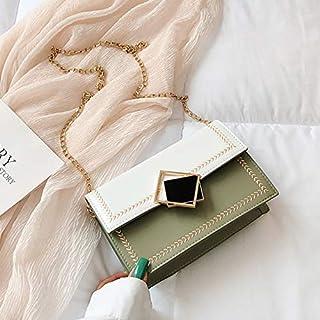 HZY Frauen-Kettenbügel-Handtaschen-kleine Crossbody-Tasche Umhängetasche Für Einkaufsreise-täglichen Gebrauch Damen-Minitragetasche,Green