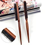 Best Hair Ties - HITSAN INCORPORATION 1Pcs Pro Hair Brush Wood Handle Review