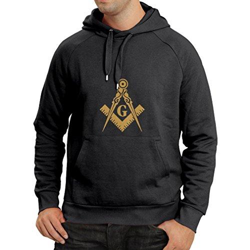 Kostüme Band Mitglied (Kapuzenpullover Freimaurer (Freemasons) – zubehör für Herren mit dem symbole
