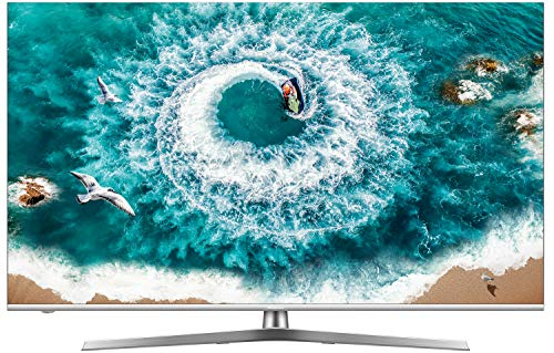 Hisense H55U8B 138 cm (55 Zoll) Fernseher (4K Ultra HD, HDR 1000, DolbyVision, Triple Tuner, Smart-TV, USB-Aufnahmefunktion, WCG) Led Local Dimming