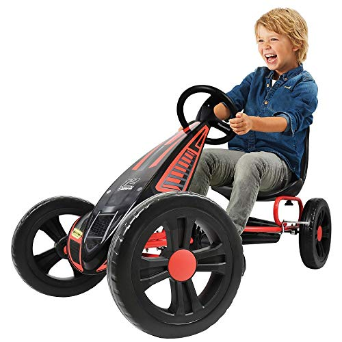 Hauck Kart a Pedales Cyclone Rojo