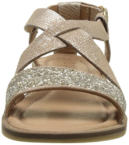 Bisgaard 71927117, Sandales Bout Ouvert Fille Or (6010 Gold)