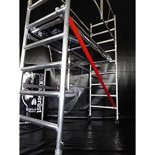 KiezGerüst Das Gerüst für den Profi Zimmergerüst Rollgerüst Rollrüstung 3,85m - jederzeit erweiterbar