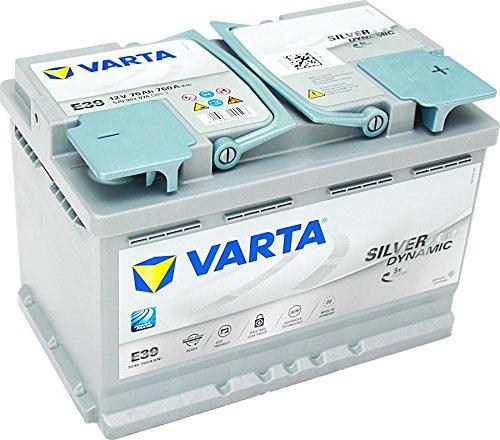 VARTA START-STOP AGM 70Ah 760A(EN) E39