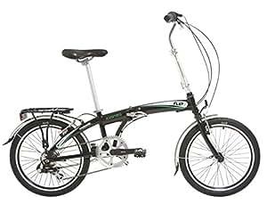 Indigo Flip 7 Folding Bike - (Black, 13 Inch, 20 Inch)