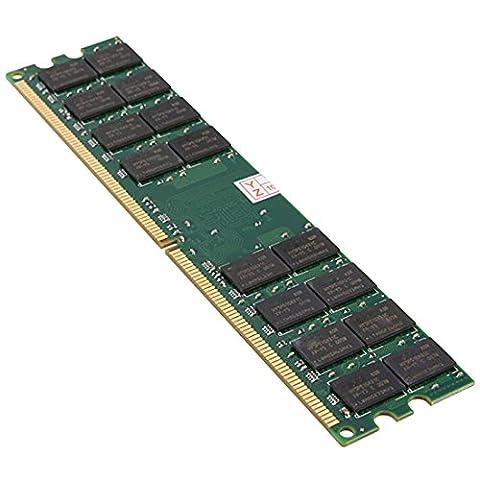 Memoire - TOOGOO(R)8G (2 x 4 G) Memoire RAM DDR2 PC2-6400 800MHz bureau non-ECC DIMM 240 broches AMD