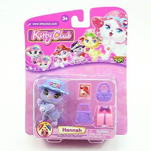 HANNAH * Kitty Club * 2016 Whatnot Toys Single Figurine & Accessories Pack by Kitty Club -