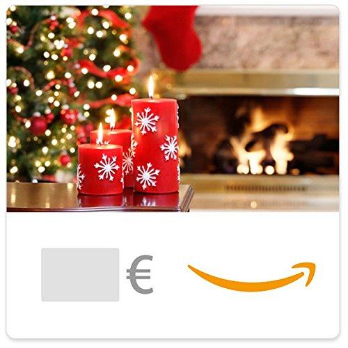 Cheque Regalo de Amazon.es - E-mail - Velas de Navidad