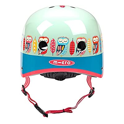 Micro Scooters Safety Helmet Owl For Boys And Girls Cycling Skating Bike by Micro Scooters