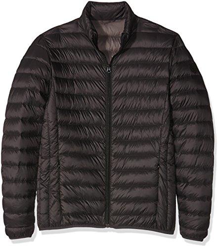 Schott NYC Oakland Extra Light Down Jacket, Giacca Uomo, Nero, Medium