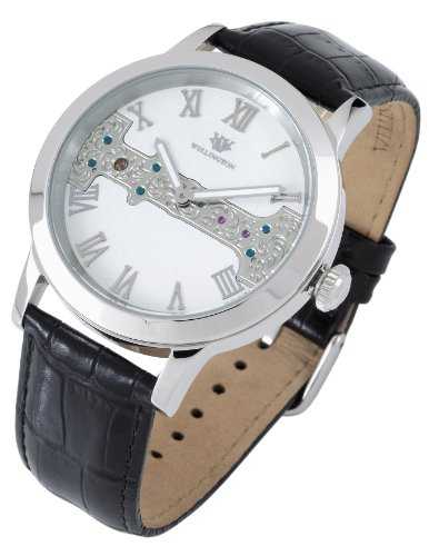 Wellington Herren-Uhr Handaufzug Analog WN111-182 - 2