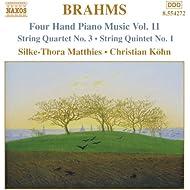 Brahms: Four-Hand Piano Music, Vol. 11