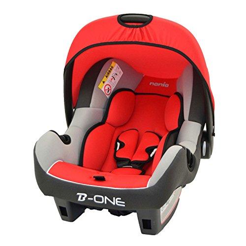 Siège auto Confort bébé Groupe 0+ de 0 à 13 kg - Fabrication 100% Française - 4 étoiles Test TCS - 4 coloris - Protections latérales - Cale tête confort et assise rembourrés