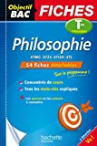 Objectif Bac Fiches Philosophie Terms Techno (French Edition)
