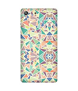 Pastel Triangles Sony Xperia M5 Case