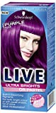 Search : Schwarzkopf Live Ultra Bright or Pastel Colouration, Purple Punk Number 094 - Pack of 3