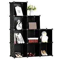 BASTUO Storage Cubes Cabinet DIY Bookcase Shelf baskets Modular Cubes,Closet for toys,Books,Clothes