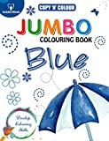 Best Golden Books Book Toddlers - Copy N Colour Jumbo Colouring Book - Blue Review
