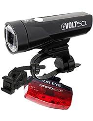 Cateye LED Fahrradbeleuchtung GVolt50 RC + TL-LD620G StVZO-Zulassung