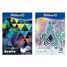 Pelikan 236799 Drawing Pad A3 20 Sheets Assorted Designs - No Choice of Motif