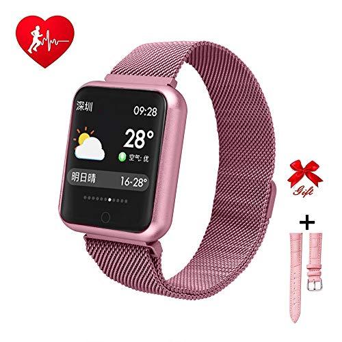 RanGuo - Reloj Inteligente para Hombres, Mujeres y niños, Deportes al aire...