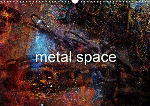 metal space (Wall Calendar 2020 DIN A3 Landscape): Metal surreal universe. Dark souls in the shipyard of Mario Rosanda Ros imagination. (Monthly calendar, 14 pages ) (Calvendo Art)