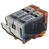 2 Black Ink Cartridge for Canon Pixma MP600R PGI-5Bk