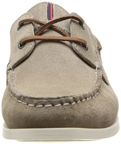 Tommy Hilfiger Chino 12B, Chaussures bateau homme Beige (Cobblestone)