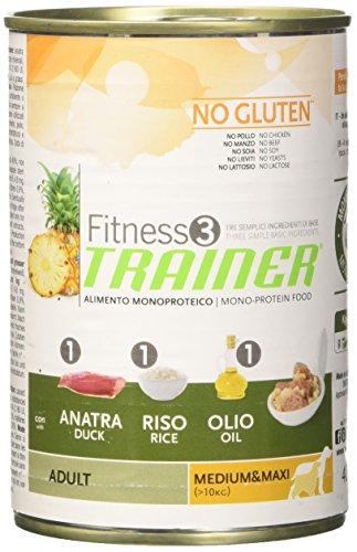 TR. Fit.3 Adult M/M Anatra/Riso/Olio No Gluten Gr 400