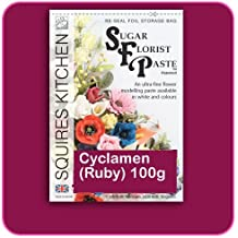 Blütenpaste 100 g Cyclamen - Ruby - Squires Kitchen